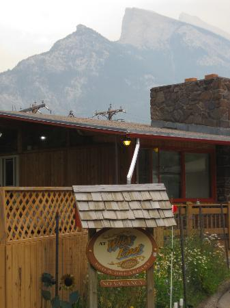 At Wit's End Bed and Breakfast: Entouré des Rockies