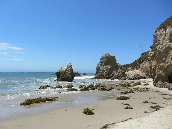 El Matador State Beach Rock Formations End Of