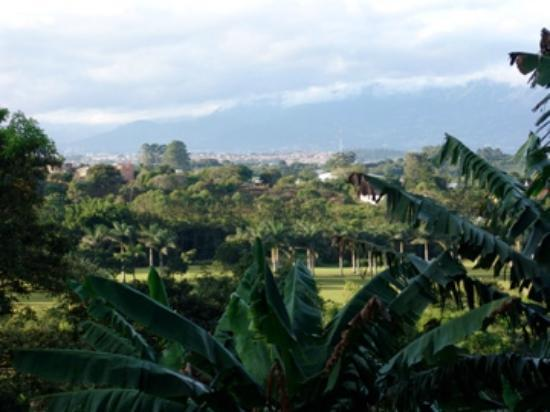Finca Rosa Blanca Coffee Plantation Resort: San Jose from La Piedra balcony