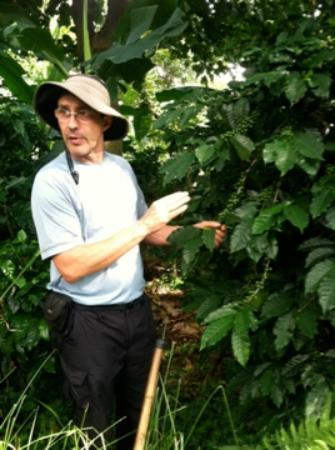 Finca Rosa Blanca Coffee Plantation & Inn: Leo on the coffee tour