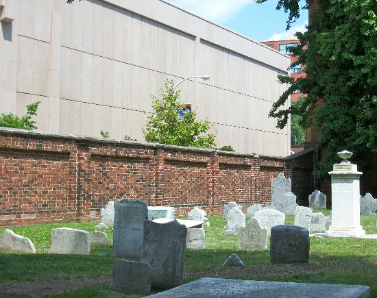 United States Mint: The Mint from Inside Christ's Church Cemetery