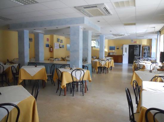 Hotel Ulisse: Sala ristorante