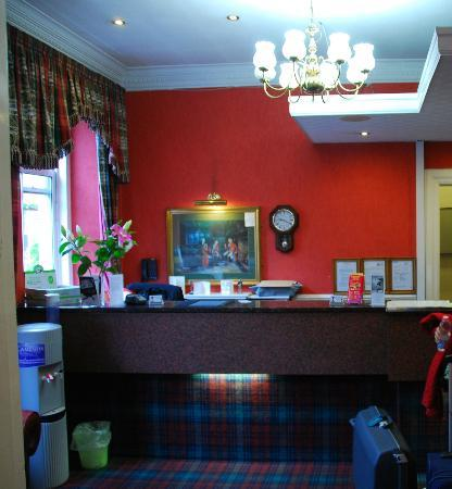 Argyll Hotel: Reception