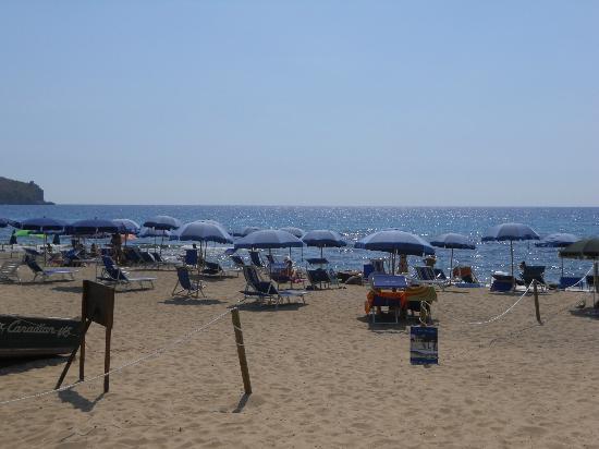 Spiaggia dell'Hotel Ulisse