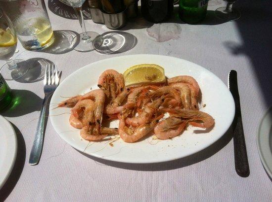 Restaurante Jose Jiminez :                   José Jiménez - gambas - prawns