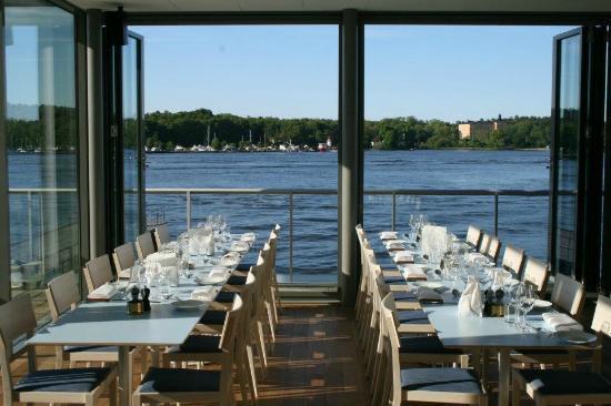 FB Sea : Utsikt från restaurangen!