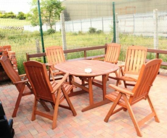 The Mourne Lodge: Outdoor Barbeque area