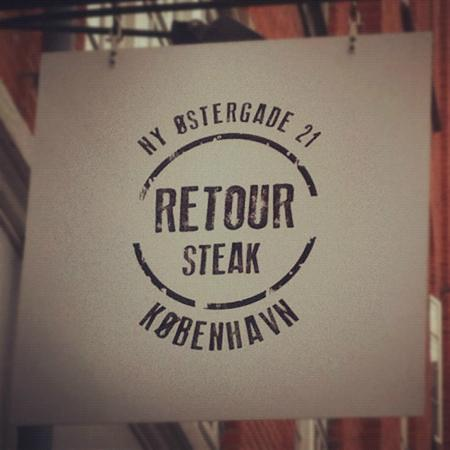 Retour Steak: Sign