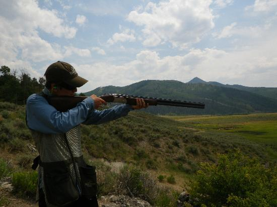 The Lodge and Spa at Three Forks Ranch: sporting clay course