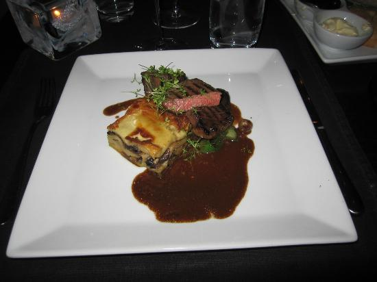 Barrique Wine  Bar : Sicilian main course, slow cooked prime rib/ox neck