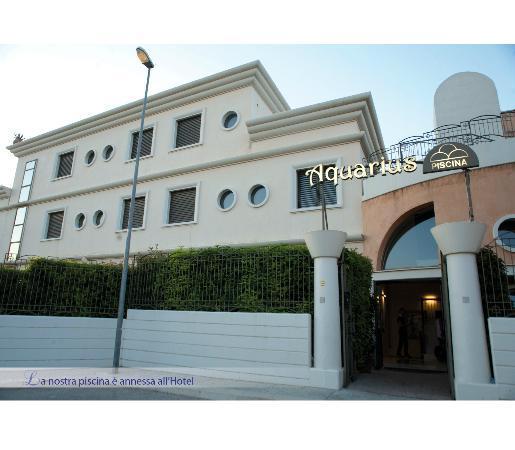 Hotel d'Altavilla: ingresso piscina