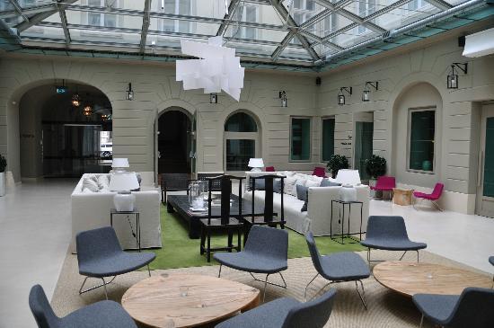 Hotel Zenit Budapest Palace: Lobby