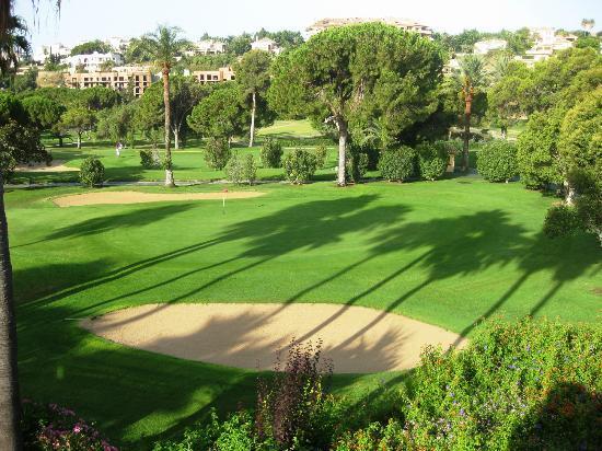 Rio Real Golf Hotel : camera con vista green