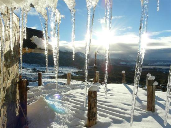 Cerro Castor (Castor Mount): La vista desde el refugio