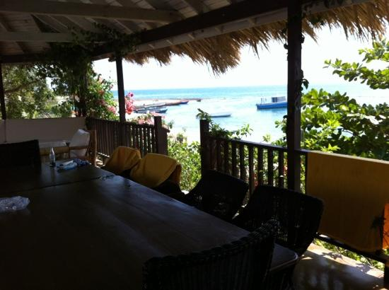 Jakes Hotel, Villas & Spa: view from our house
