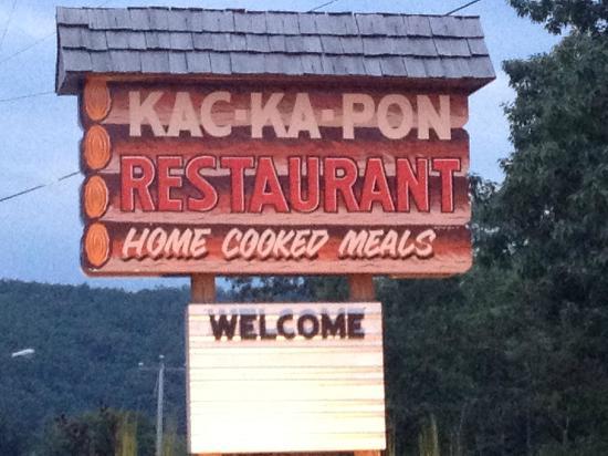 Kac-Ka-Pon Restaurant: Weocome