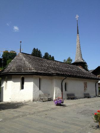 Gstaad Palace Hotel: Kirchli