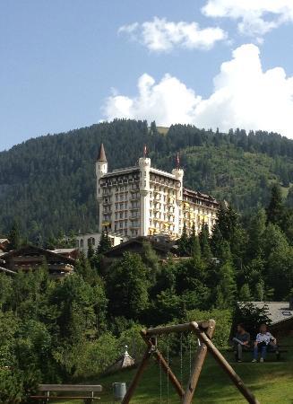 Gstaad Palace Hotel: von aussen