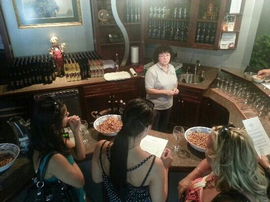 Silver Sage Winery: The Wine Tasting