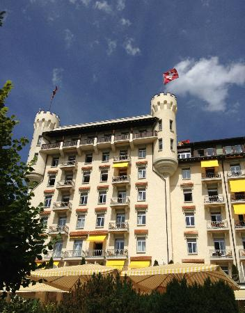 Gstaad Palace Hotel: Schlösschen