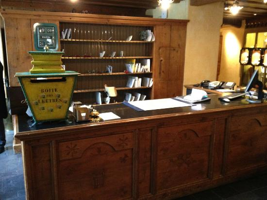Gstaad Palace Hotel: Concierge
