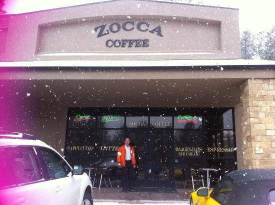 Zocca Coffee : Before we hit the slopes at Zocca!