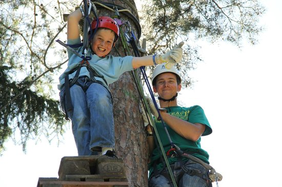 Mountain Adventure Camps: High Ropes - Residential Camp