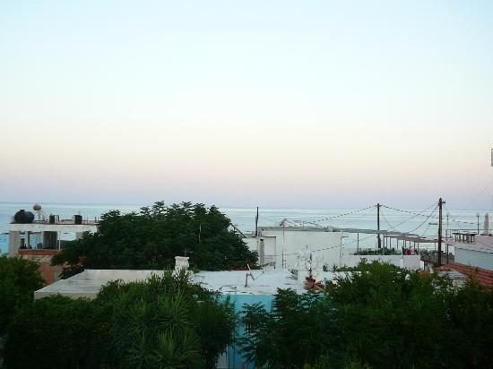 Salora Studios-Apartments: sea view from the 1st floor