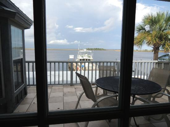 Apalachicola River Inn: View from inside