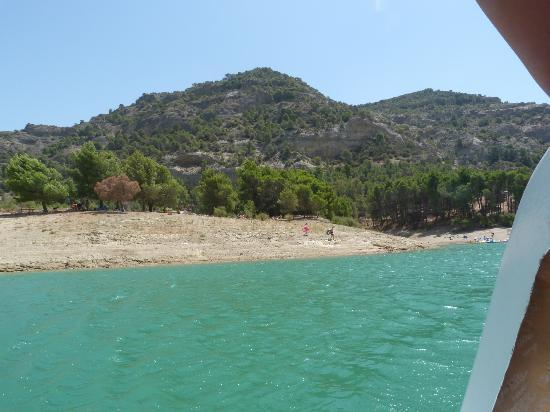 Ardales National Park: View from the pedalo!!