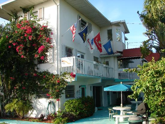 Gulf View Waterfront Resort: main bldg