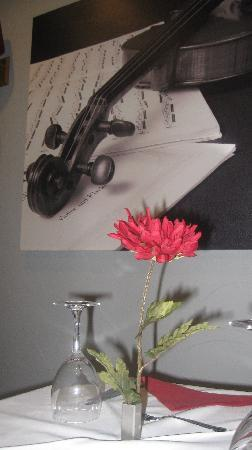 Restaurante O Violino: Mesa