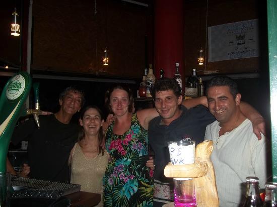 Remezzo Beach Bar: The Gang