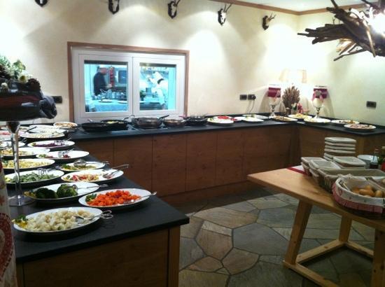 Hotel Somont: Angolo buffet colazione/cena