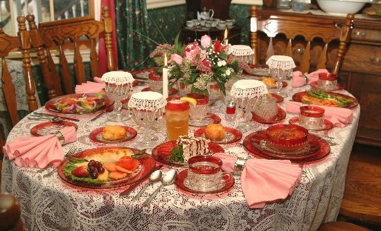 Grey Gables Bed 'N Breakfast Inn : Victorian English and Tennessee Country Heritage Food