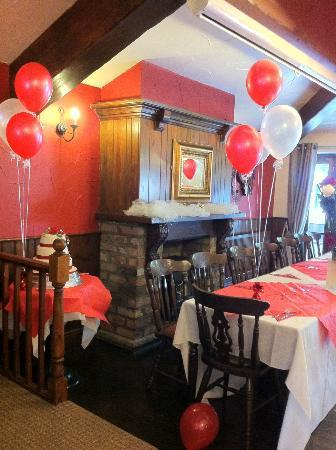 The Farmers Arms: balloons