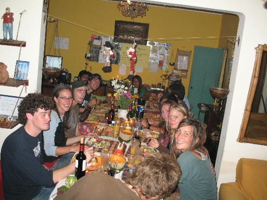 Casa del Mochilero: celebration