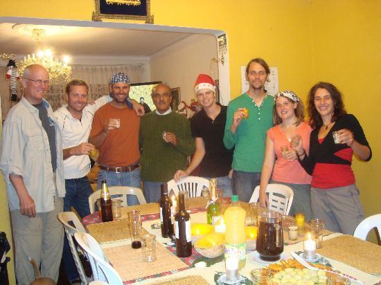 Casa del Mochilero: dinner time