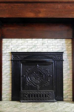 Pandora's Manor : Dining Room Fireplace