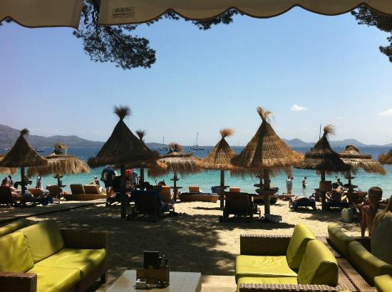 Formentor, a Royal Hideaway Hotel: View from the Beach Bar