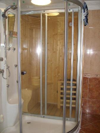 ABC Hotel: Mini-Sauna