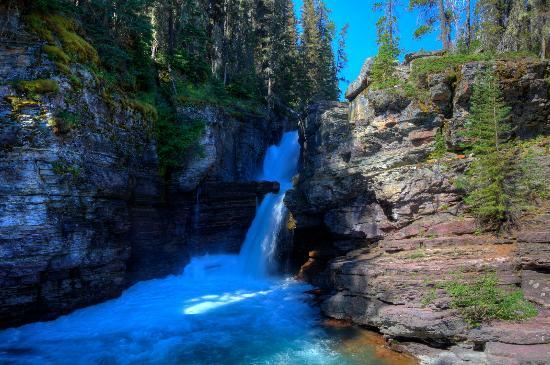 meilleure sélection 563be 01bd8 St. Mary Falls - Picture of Virginia Falls, Glacier National ...