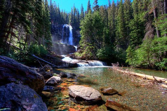 Glacier National Park, MT: Virginia Falls