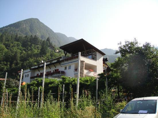 Eremita-Einsiedler: il fronte dell'hotel