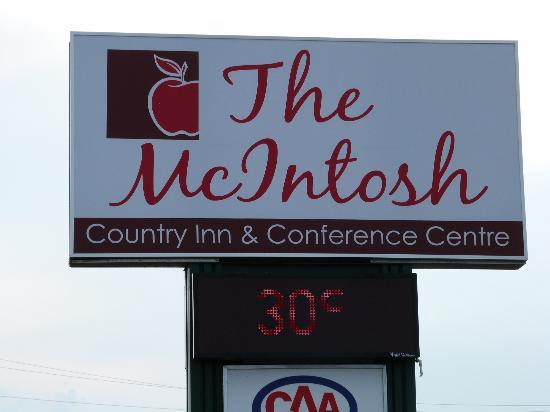 McIntosh Country Inn & Conference Centre: En hommage à Steve