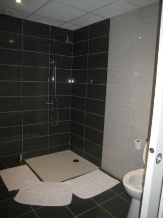 Logis Le Central Hôtel & Restaurant : New? style shower