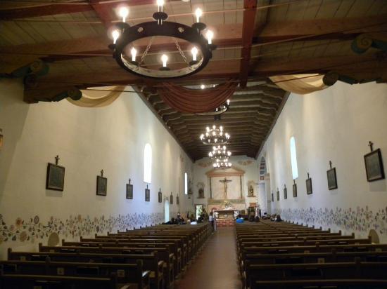 Mission San Luis Obispo de Tolosa: Chiesa - interno