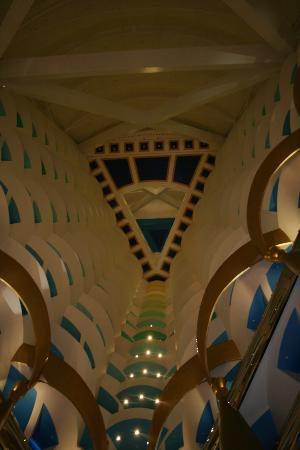 Burj Al Arab Jumeirah: Interno hotel