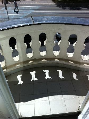 Best Western City Hotel Moran: Balkon