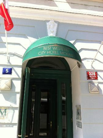 Best Western City Hotel Moran: Eingang
